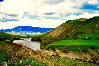 vor Achalziche, am Fusse des kleinen Kaukasus