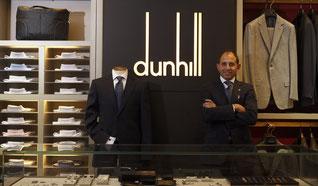 ダンヒルのスーツ買取