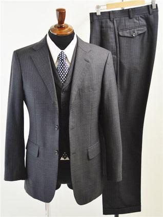 バーバリーブラックレーベルのスーツ買取