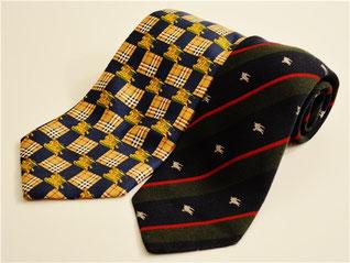 バーバリーのネクタイ買取