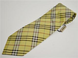 バーバリーのネクタイ