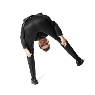 スーツのテカリを取る方法