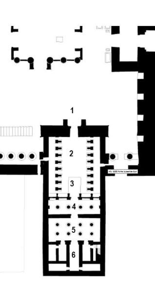 Karnak - Temple-Reposoir de Ramsès III