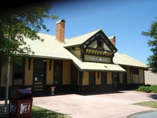 Katy Railway Depot Now Hillsboro Chamber of Commerce