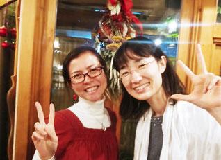 滝澤久美子さんと、ダブルタッキー💕
