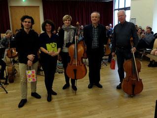 Cello-Orchester 2019 in Schlitz (Foto: LMAH)