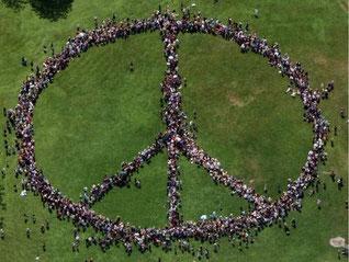 Peace-Zeichen wird 60 Jahre alt.
