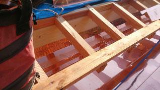 銅板屋根 工事写真 水切り