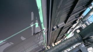 柱横 板金 仕上がり