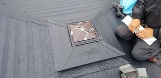 再度、屋根を取り付ける