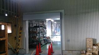 工場 開口回り改修 完成