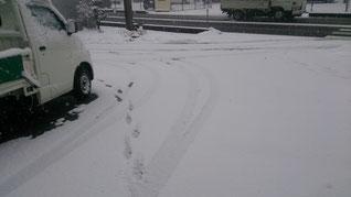 雪 垂井町