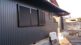 外壁 施工写真