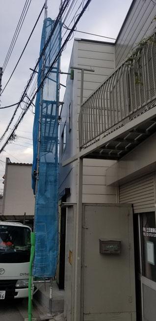 外壁工事の完成写真