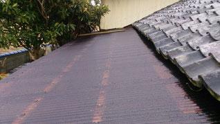 外装 屋根 波板 改修後
