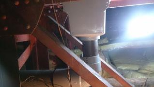 天井裏 配管 施工