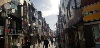 神奈川の川崎市の繁華街(多分)