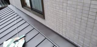 屋根、水切りとも取り付いて完成した状態