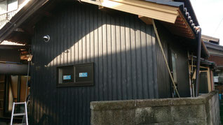 外壁改修 レア 黒杉