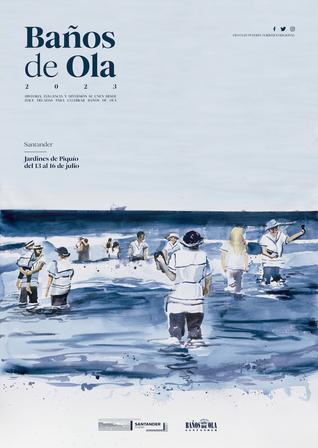 Fiestas en Santander Baños de Ola