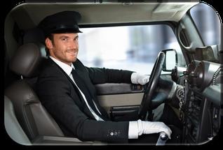 Chauffeur für Taxi, Limousine, Personenkleinbusse