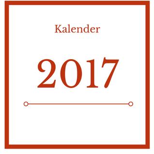 Gratis-Kalender zum Ausdrucken für 2017 - Schreibwerkstatt Wien