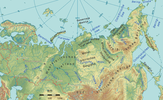 By Ulamm 21:06, 18 April 2008 (UTC) - Image:Russland topo.pngThe map has been created with the Generic Mapping Tools: http://gmt.soest.hawaii.edu/ using one or more of these public domain datasets for the relief:GLOBE (topography): http://www.ngdc.noaa.go