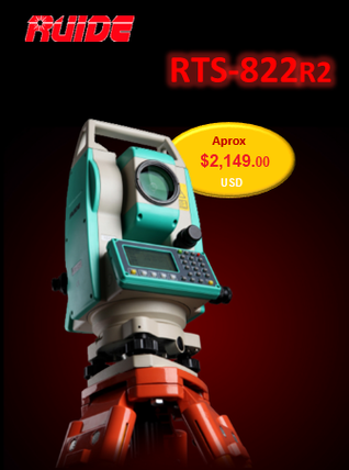 precio estacion total china ruide rts822r2