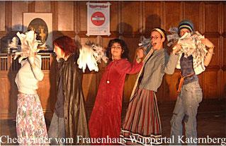 Saskia Pörner, Felicitas Heber, Sara Moazzami, Mareike Schumacher und Berit Kirsten
