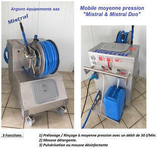 Mistral mobile  moyenne pression