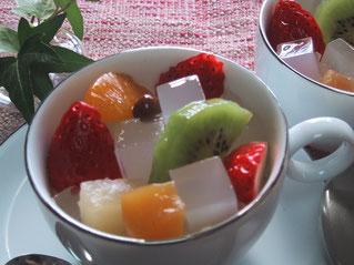 フルーツ寒天