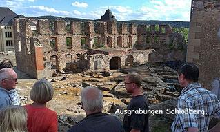 Ausgrabungen Schlossberg, Plauen