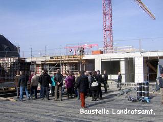 Baustelle Landratsamt Vogtlandkreis
