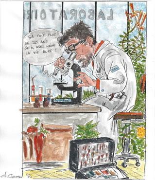 Claude Gonon Microscopie copyright