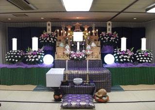 板橋区民葬祭壇