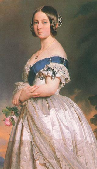 Queen Victoria, Bild 1842