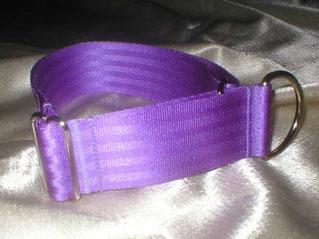Zugstopp, Halsband, 4cm, Gurtband fliederfarben
