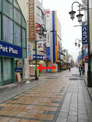 川越クレアモール商店街拡大写真