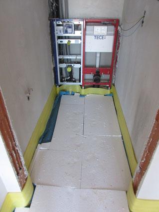Fußbodendämmung am Himmelreichweg, Reiter-GmbH, ernergiebaumeister.at