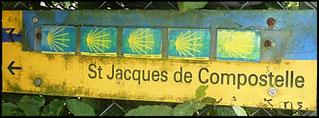 chemin de Saint Jacques de Compostelle, étape de Saint Genix sur Guiers