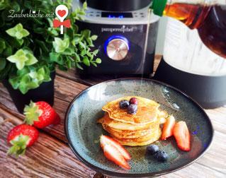 Blender Pampered Chef®, Smoothie Rezept, Pancakesteig