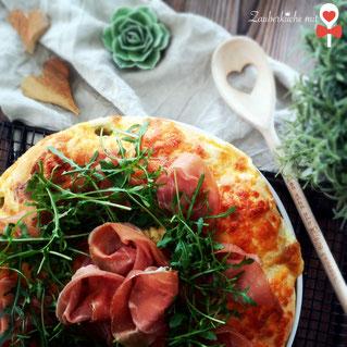 Rezept Pizza Zauberküche mit Herz