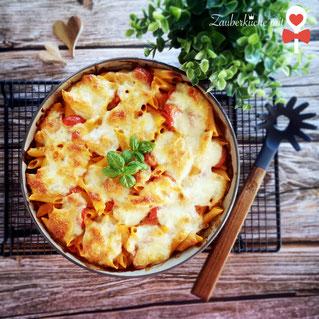 Pampered Chef Rezepte, Nudelauflauf, Vegetarische Pasta