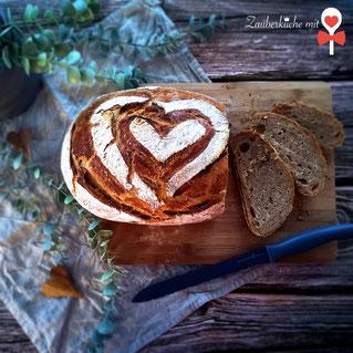 Brot, Brotrezept, Zauberküche mit Herz