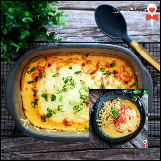 Ofenmeister Rezepte, Pampered Chef Rezepte, Hähnchenbrust in Paprika Soße