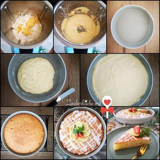 Ofenhexe Pampered Chef Stoneware Rezept Zitronenkuchen