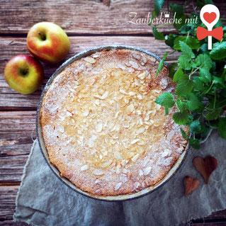 Apfelkuchen Rezept runde Stoneware Pampered Chef Rezepte