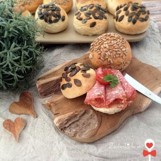 Semmelrezept, Brötchen, Zauberstein von Pampered Chef®