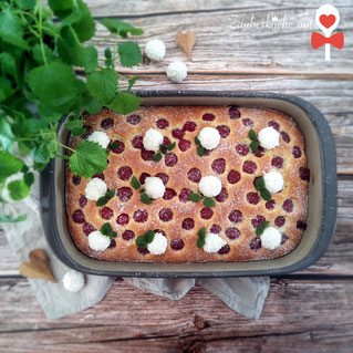 Ofenhexe Pampered Chef®, Kuchen, Rezept, Zauberküche mit Herz, Kokoskuchen