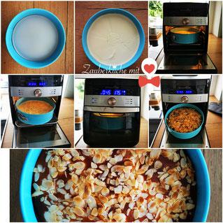 Airfryer Rezepte Pampered Chef, Käsekuchen 23cm Springform